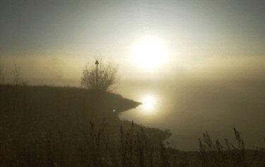 Stilte wandeling zonsopgang