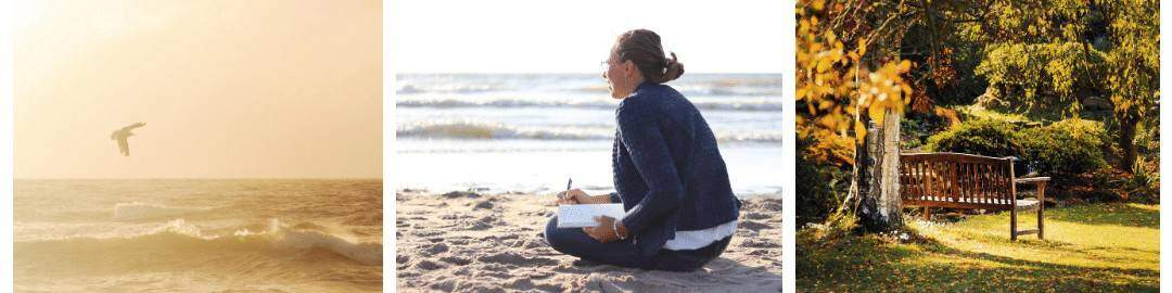 Retraite vlakbij zee 'Mijn kleine ik'